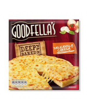 M3 Distribution Services Irish Food Wholesaler Goodfellas Deep Deliciously Cheesy (11x417g)
