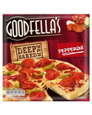 M3 Distribution Services Irish Food Wholesaler Goodfellas Deep Pepperoni (11x419g)