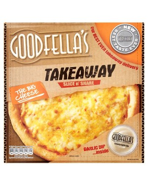 M3 Distribution Goodfellas Takeaway Pizza - The Big Cheese with Garlic Dip
