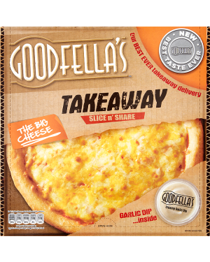 M3 Distribution Services Irish Food Wholesaler Goodfellas Takeaway Big Cheese w Dip (7x553g)