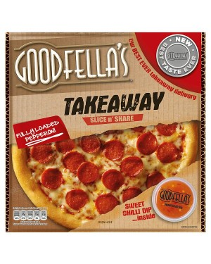 M3 Distribution Services Irish Food Wholesaler Goodfellas Takeaway Pepperoni w Dip (7x553g)