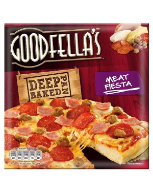 M3 Distribution Services Irish Food Wholesaler Goodfellas Deep Meat Fiesta (7x414g)
