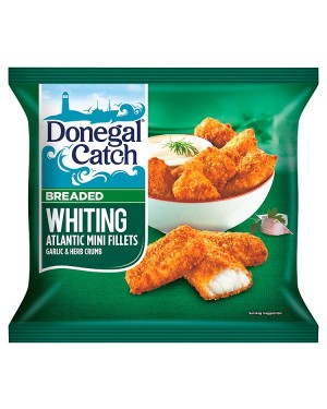 M3 Distribution Services Irish Food Wholesaler Donegal Catch Breaded Whiting Mini Fillets (12x250g)