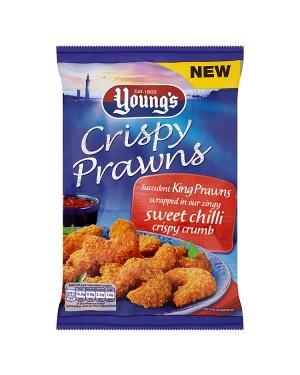 Young's Crispy Sweet Chilli Prawns (12x200 G)