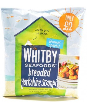 M3 Distribution Services Irish Food Wholesale Whitby Yorkshire Breaded Scampi £2