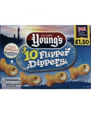 Young's 10 Flipper Dippers PM£1.50 (12x250 G)