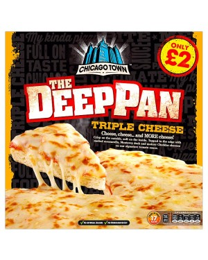 M3 Distribution Chicago Town Deep Pan Triple Cheese Pizza PMÃ'ÂÃâ€
