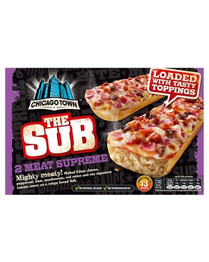 M3 Distribution Chicago Town 2pack Meat Supreme Subs