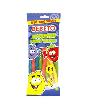 M3 Distribution Services Bulk Food Wholesale Bebeto Assorted Fruit Twists PMÃ'ÂÃ