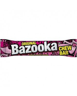 M3 Distribution Services Bulk Food Wholesale Bazooka Chew Bar 14g