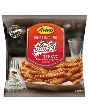 M3 Distribution Services Irish Food Wholesale Aviko Sweet Potato Fries 450g