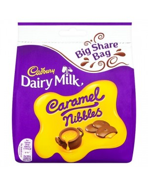 M3 Distribution Services Irish Food Wholesale Cadbury Caramel Nibbles 252G