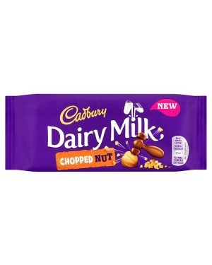 M3 Distribution Services Irish Food Wholesaler Cadbury Dairy Milk Chopped Nut (22x95g)