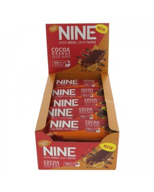 M3 Distribution Services Irish Food Wholesaler 9Bar Cocoa Orange (20x40g)