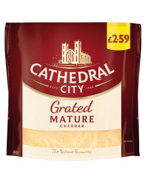 M3 Distribution Services Cathedral City Grated Mature Cheddar PMÃ'ÂÃâââ