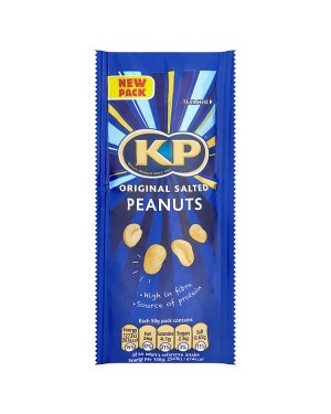 M3 Distribution Services Irish Food Wholesaler Kp Original Salted Peanuts (16x50g)