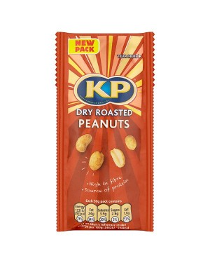 M3 Distribution Services Irish Food Wholesaler Kp Original Dry Roasted Peanuts (16x50g)
