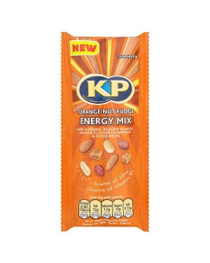 M3 Distribution Services Irish Food Wholesaler Kp On the Go Orange Nut Fudge (16x40g)