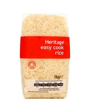 M3 Distribution Services Wholesale Food Heritage Easy Cook Rice 1Kg