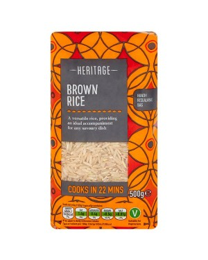 M3 Distribution Services Wholesale Food Heritage Brown Rice 500g