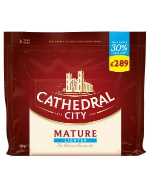 M3 Distribution Services Cathedral City Lighter Mature White Cheese PMÃ'ÂÃÃ