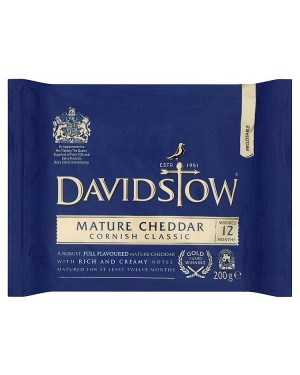 M3 Distribution Services Davidstow Mature Cheddar 200g