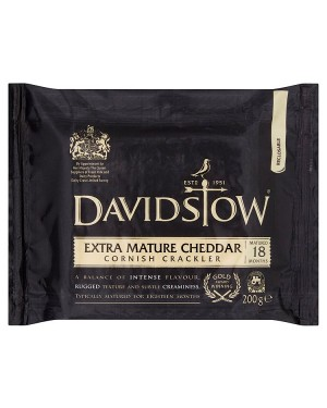 M3 Distribution Services Davidstow Extra Mature Cheddar 200g