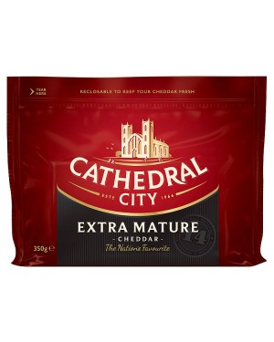 M3 Distribution Services Cathedral City Extra Mature Cheddar 350g