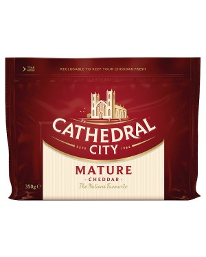 M3 Distribution Services Cathedral City White Mature Cheddar 350g