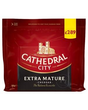 M3 Distribution Services Cathedral City Extra Mature Cheddar 200g PMÃ'ÂÃÃÂ