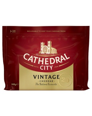 M3 Distribution Services Cathedral City Vintage Cheddar 300g