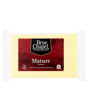 Bru Chpl Mature White Cheddar (12x320 G)
