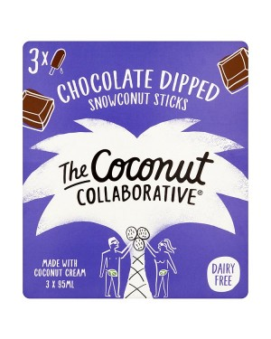 M3 Distribution Services Irish Food Wholesale Coconut Collaborative Chocolate Dipped Coconut & Vanilla