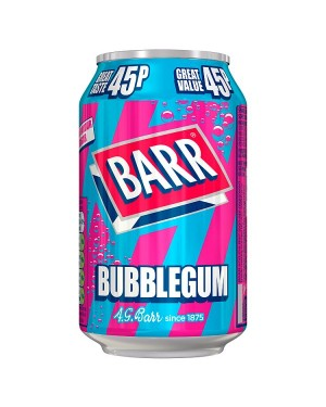 Barr Bubblegum PM45p (24x330 ML)