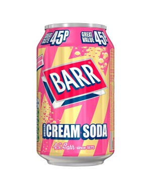 Barr Cream Soda PM45p (24x330 ML)