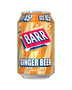 Barr Ginger Beer PM45p (24x330 ML)