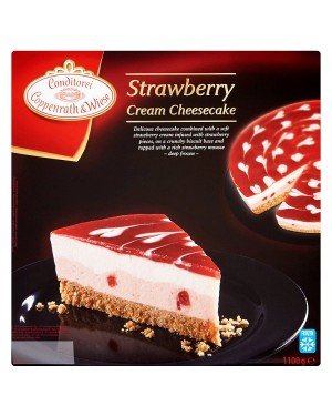 M3 Distribution Services Irish Food Wholesale Coppenrath & Wiese Strawberry Cream Cheesecake 1.1Kg