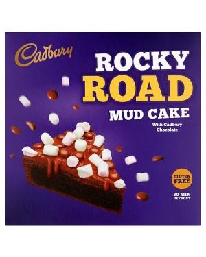 M3 Distribution Services Irish Food Wholesaler Cadbury Rocky Road Mud Cake (6x420g)