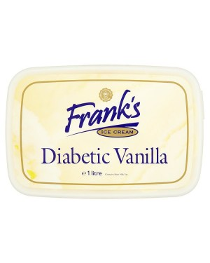M3 Distribution Franks Diabetic Vanilla Ice Cream 1 Litre