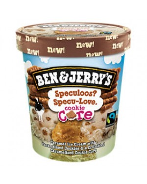 M3 Distribution Services Irish Food Wholesaler Ben & Jerry's Core Speculoos Specu-Love (8x500ml)