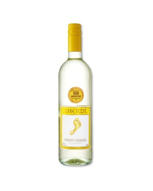 M3 Distribution Services Bulk Wholesale Barefoot Pinot Grigio (6x750ml)