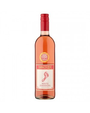 M3 Distribution Services Bulk Wholesale Barefoot White Zinfandel (6x750ml)