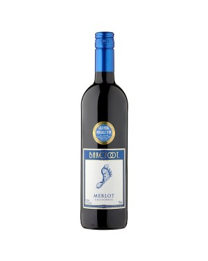 M3 Distribution Services Bulk Wholesale Barefoot Merlot (6x750ml)