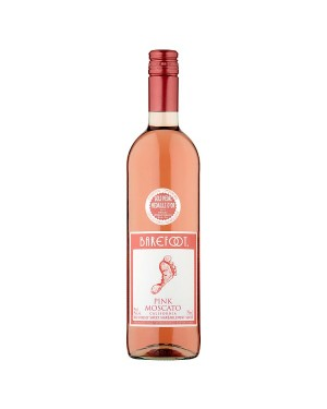 M3 Distribution Services Bulk Wholesale Barefoot Pink Moscato (6x750ml)
