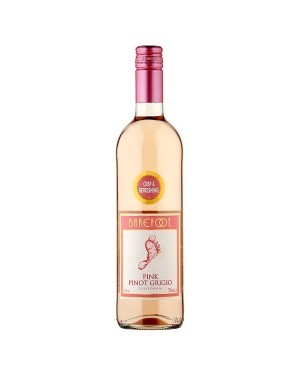 M3 Distribution Services Bulk Wholesale Barefoot Pink Pinot Grigio (6x750ml)
