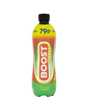 M3 Distribution Services Irish Food Wholesaler Boost Energy Exotic Fruit PM79p (12x500ml)