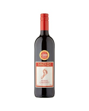 M3 Distribution Services Bulk Wholesale Barefoot Shiraz Cabernet (6x750ml)