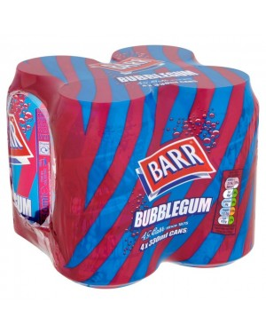 M3 Distribution Services Irish Food Wholesale Barr Bubblegum (4x330ml) PMÃ'ÂÃÆâ