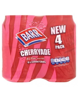 M3 Distribution Services Irish Food Wholesale Barr Cherryade (4x330ml) PMÃ'ÂÃÆâ