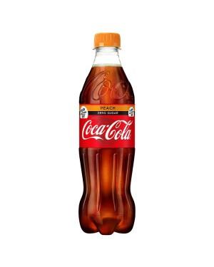 M3 Distribution Services Irish Food Wholesaler Coke Zero Peach PM£1.09/2 for £2 (12x500ml)